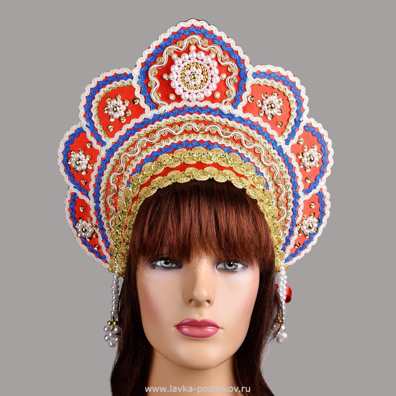 Как сделать кокошник к русскому костюму