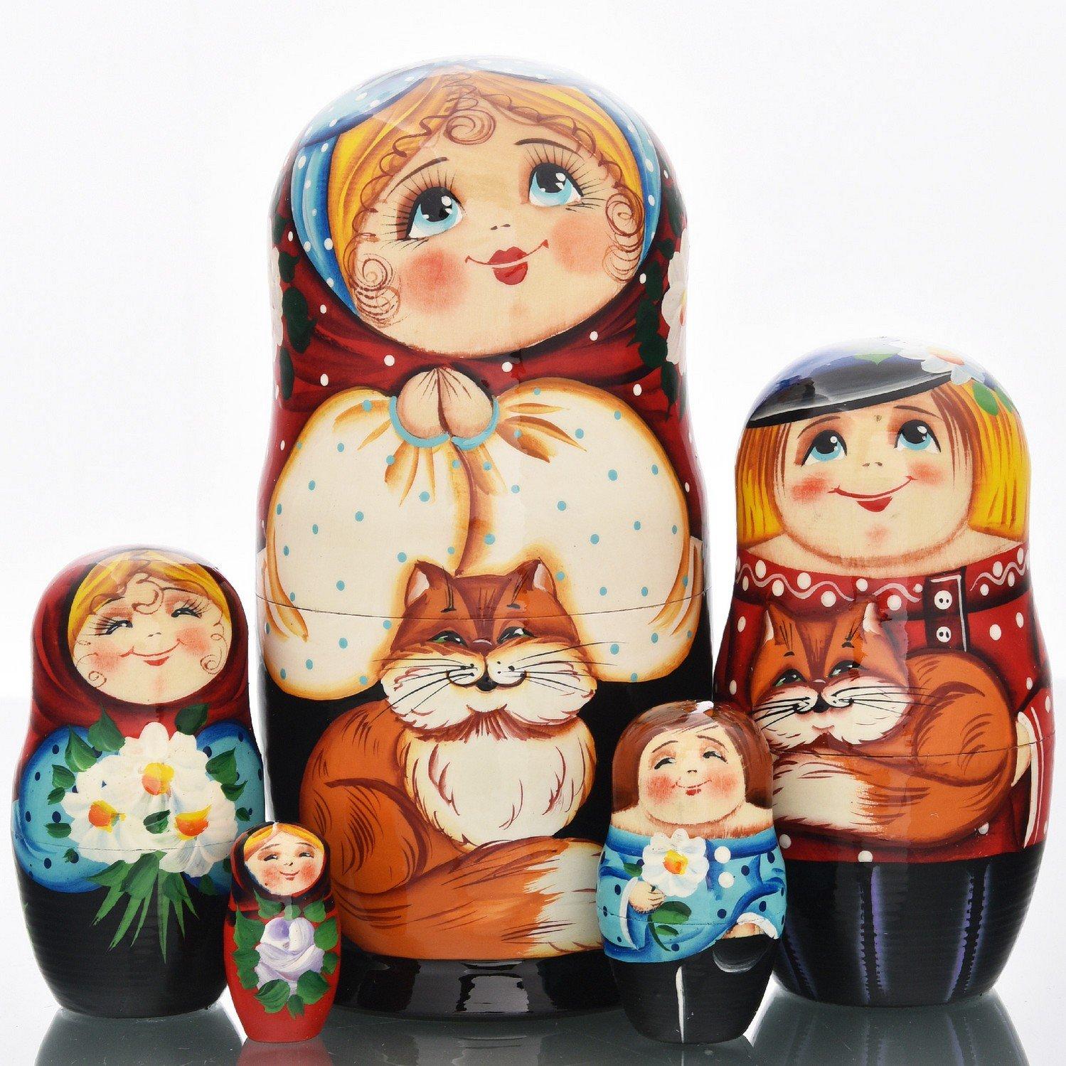 Ульяновск роспись матрёшек