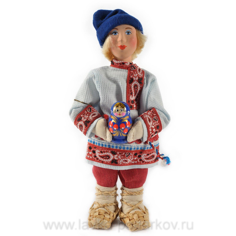 Как сделать русскую куклу мальчика