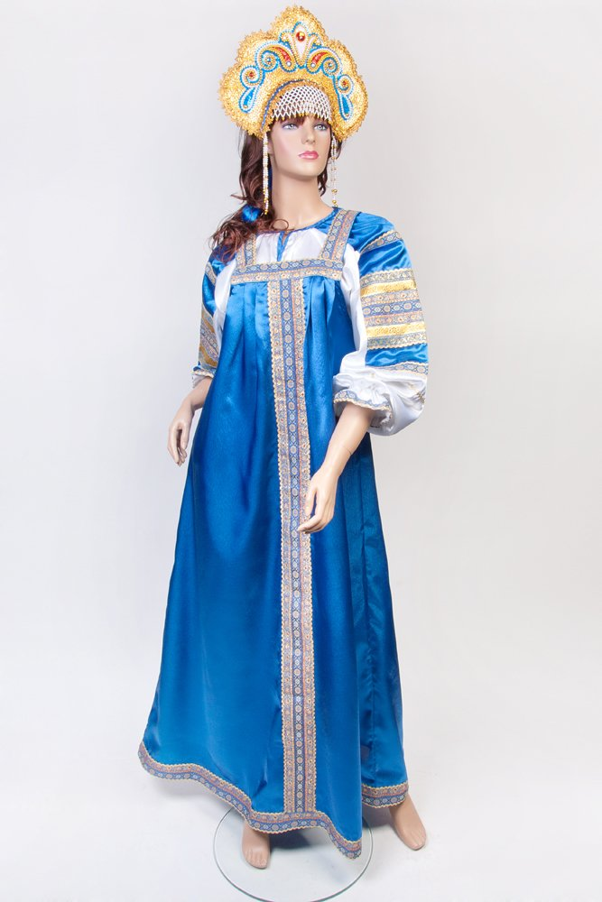 Платье русский сарафан
