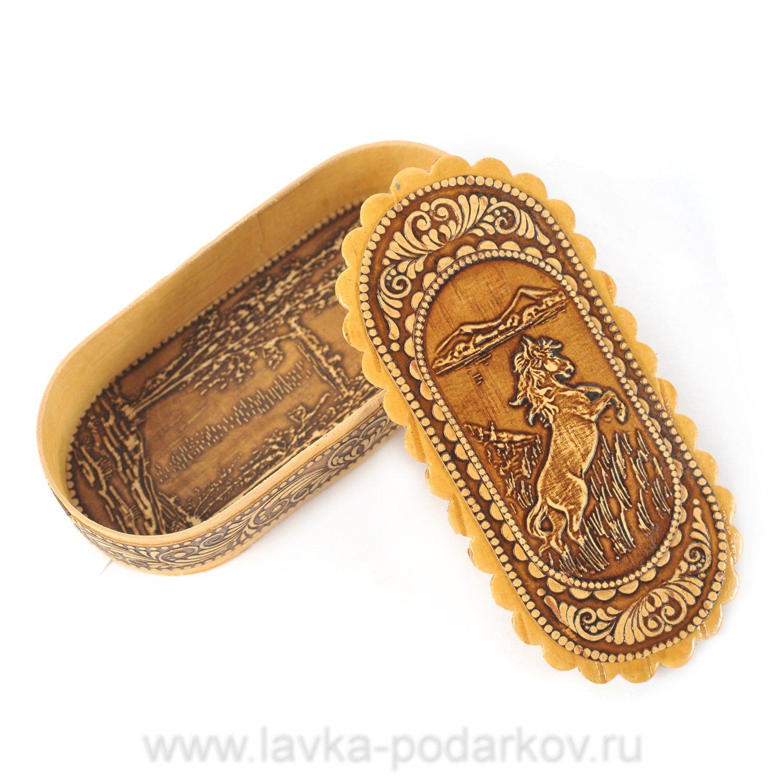 Шкатулка Русские подарки 13x9x5cm 84547
